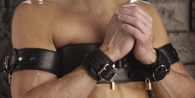 Arms To Chest Restraint Belt