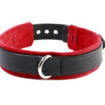 BDSM Slave Collar Red