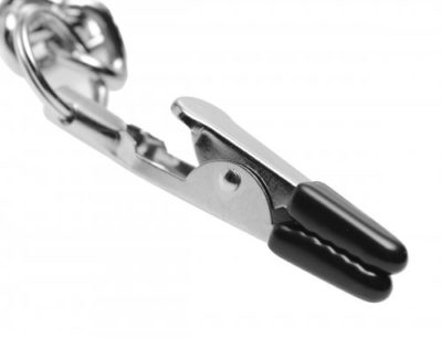 Collar Nipple Genital Close Up Of Clamp