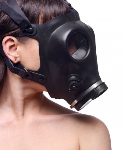 Genuine Gas Mask Side View