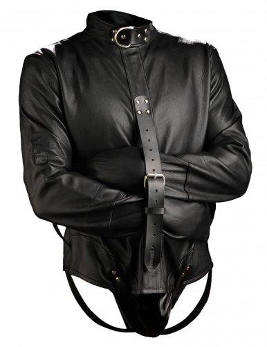 Premium Leather Straightjacket