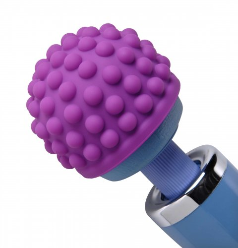 Purple Berry Bumps Wand Attachment