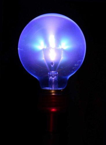 Twilight Violet Wand Light Bulb Adapter Black