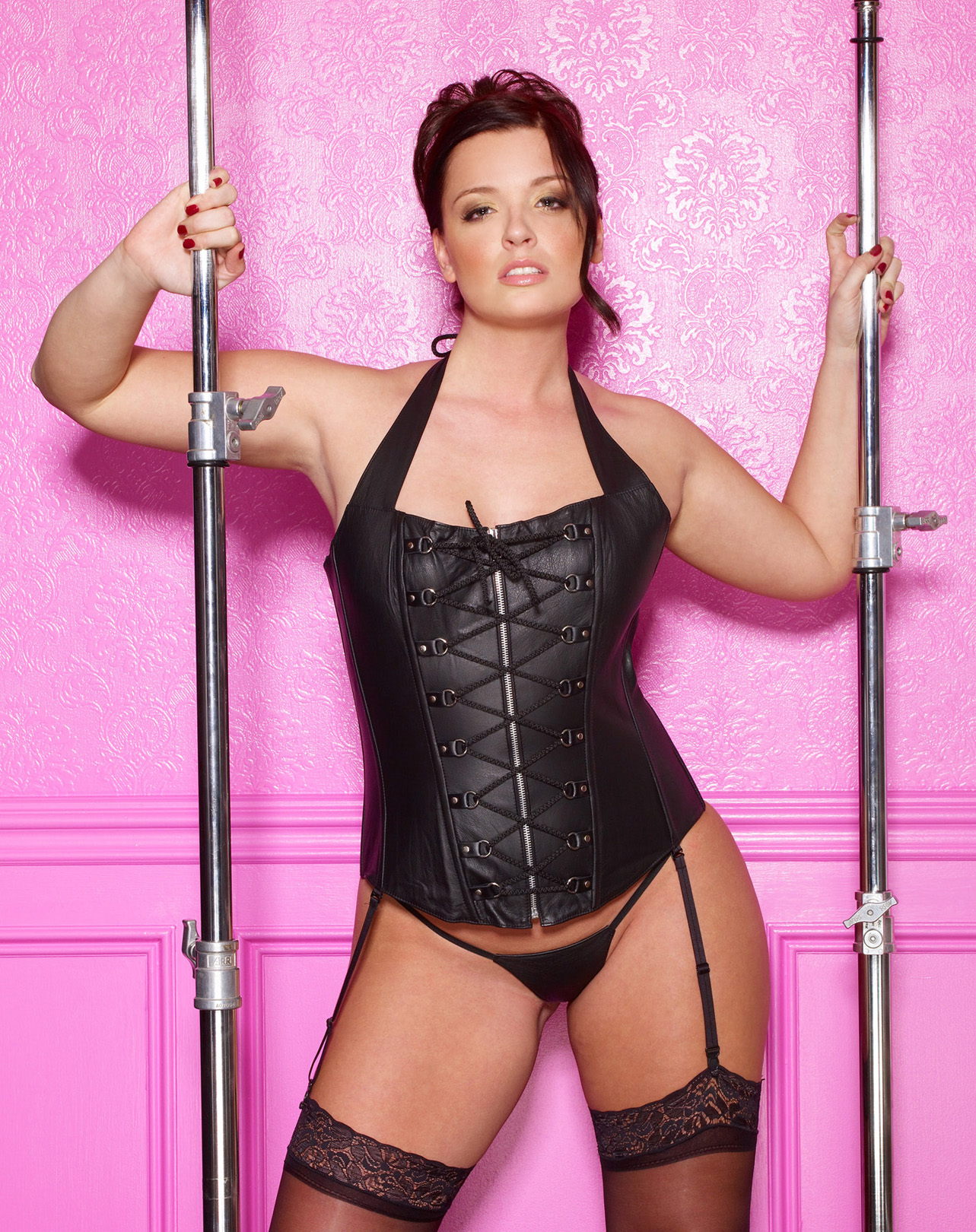 Entwined Leather Diva Corset