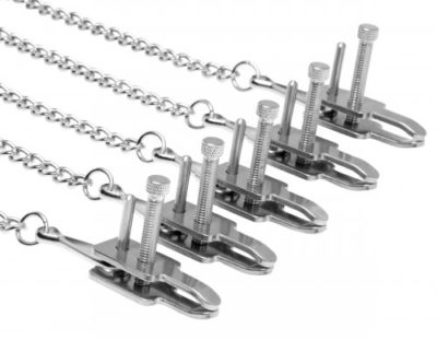 Game Of Chains Clamp Set Close Up