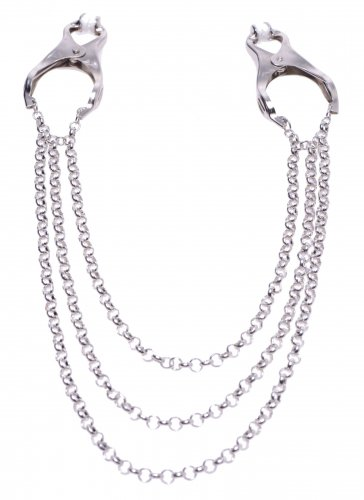 Triple Chain Nipple Clamps