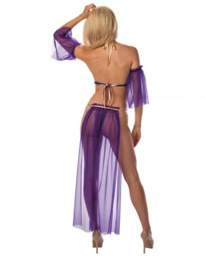exotic slave girl costume back