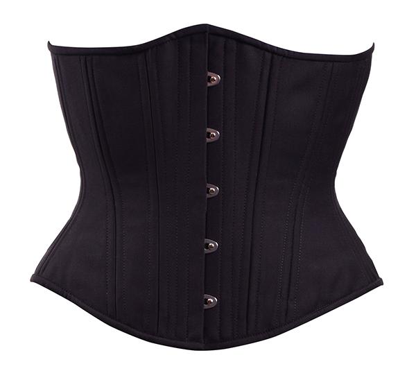 midnight cashmere corset
