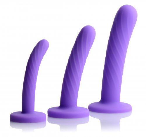 3 piece silicone dildo set