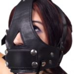 head harness with removable gag demo