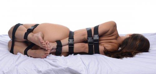 Full Body Bondage Strap Set Back View