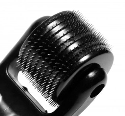 9 Row Spiked Pinwheel Close Up