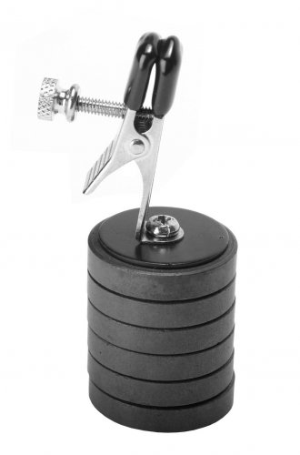 Clamp With Magnet Weights