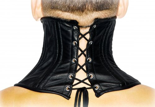 Neck Corset Back View