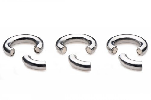 Stainless Steel Magnetic Ball Stretcher 3 Pack Separated