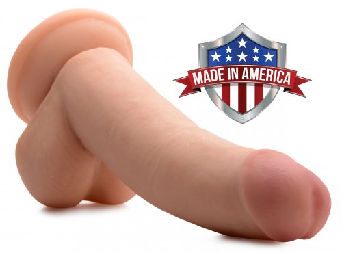 Realistic 8 Inch Dildo Made In America