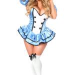 Alice Premium Corset Dress Costume