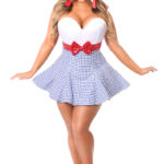 Kansas Girl Premium Corset Dress