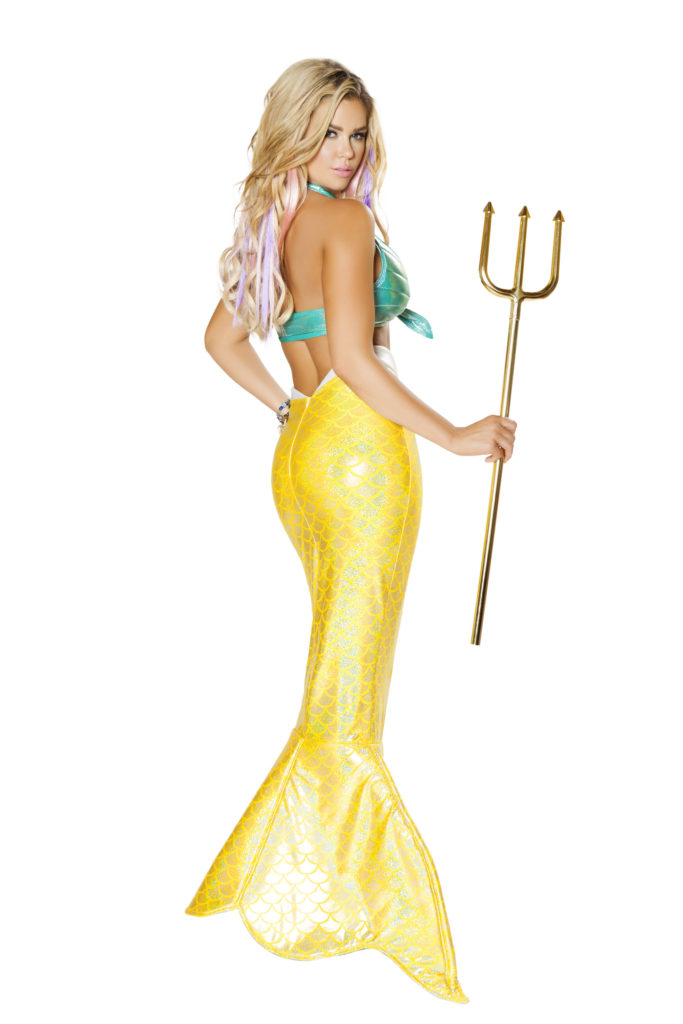 Mystical Mermaid Back