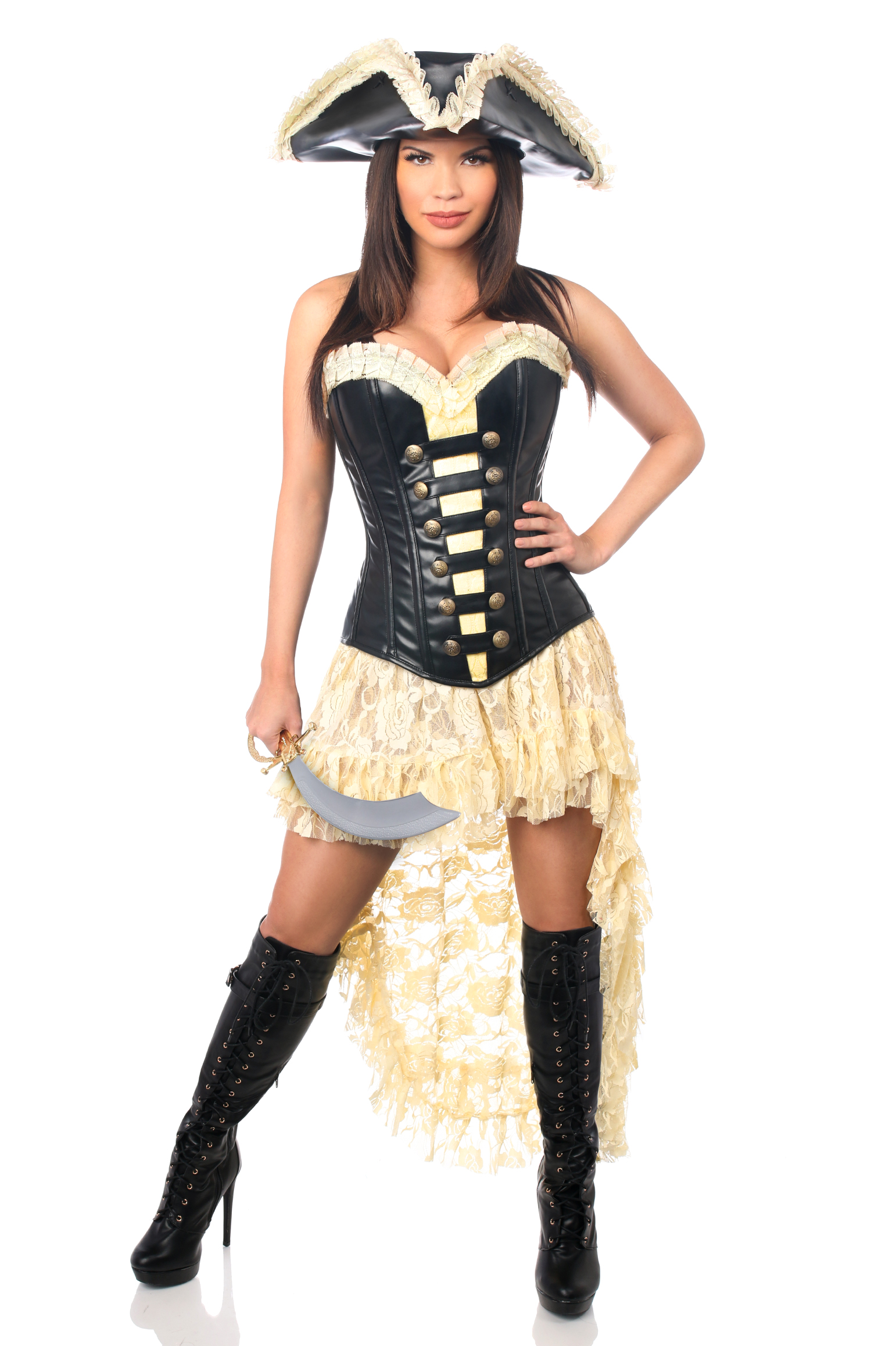 Pirate Wench Premium Corset Costume