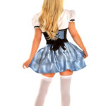 Sexy Alice Premium Corset Costume Back
