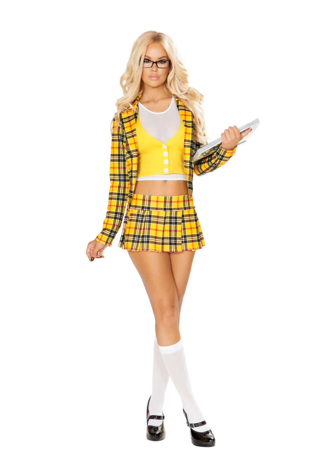 Clueless School Girl