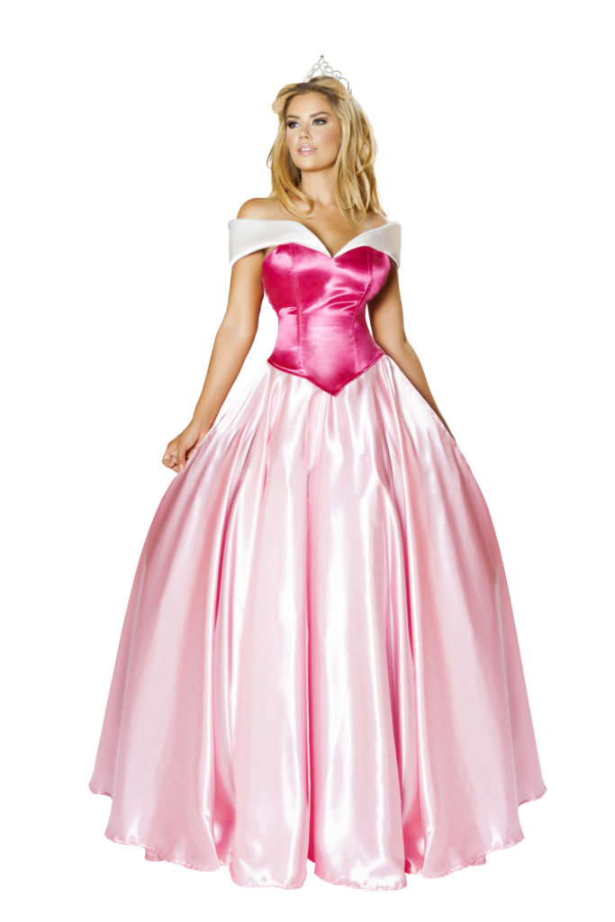 Enchanting Sleeping Princess Gown