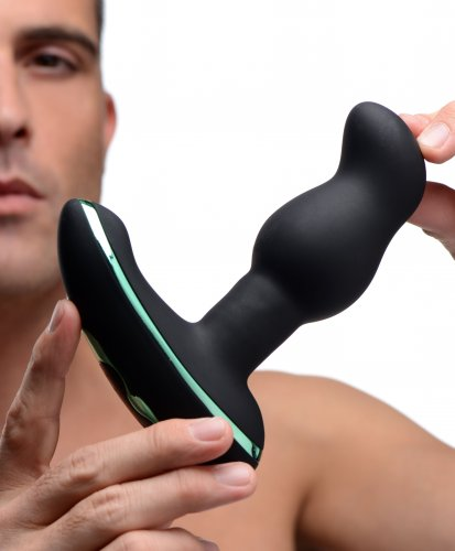 Prostate Vibe With Rimming Beads Model