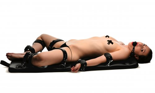Bondage Board With Model Side View