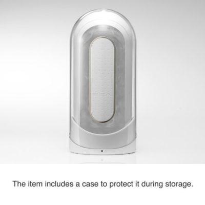 Flip Electronic Vibrating Stroker Storage Case