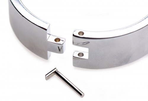 Stainless Steel Shackle Set Unlocked