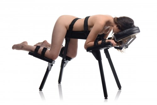 The Obedience Bench With Restraints Demo