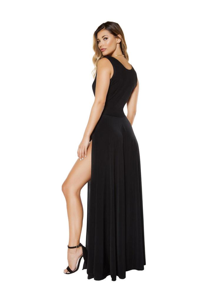 The Sensual Life Maxi Dress Black Back