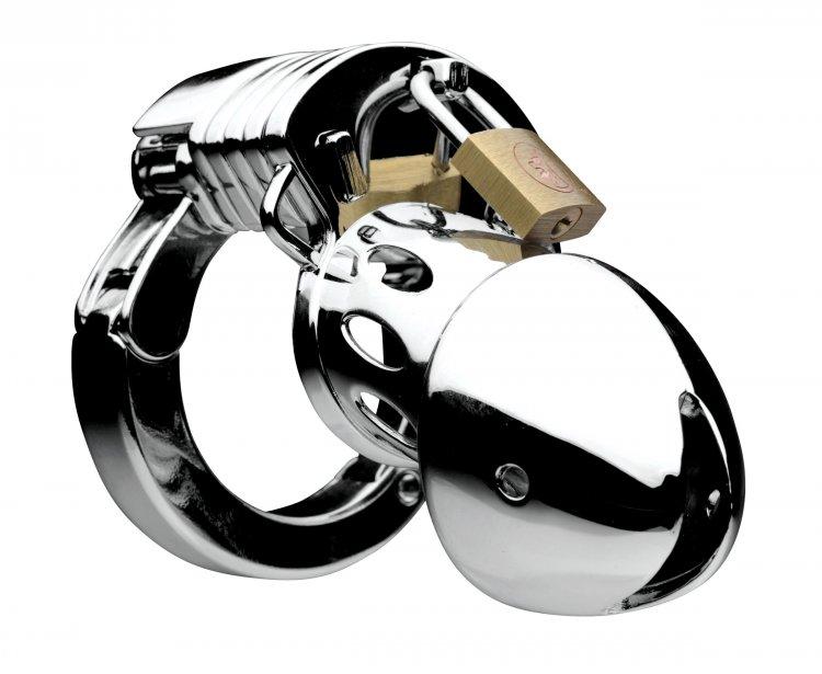 Adjustable Locking Chastity Cage