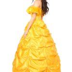 Beauty Princess Corset Costume Back